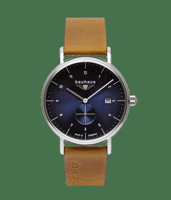 Reloj Bauhaus Cuarzo Esfera Azul - Hecho en Alemania