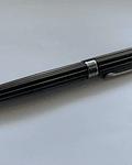 Pluma Laban Antique 2 - Metal desgastado con líneas negras