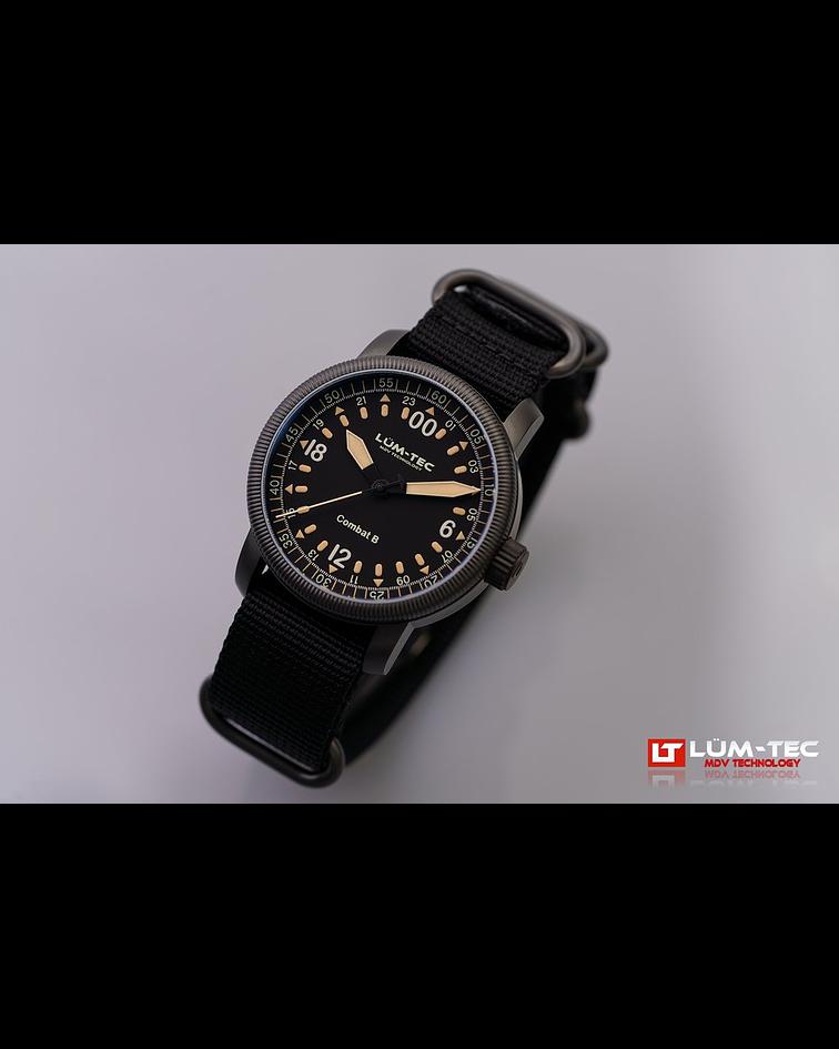 Reloj Combat B49 - Cuarzo Suizo y Cristal Zafiro