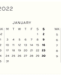 Agenda Leuchtturm 2022 Mediana Sem Vista & Libreta Tapa Dura 12M - Sage