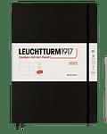 Agenda Leuchtturm 2022 Master Sem Vista Tapa Dura 12M - Black