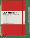 Libreta Leuchtturm Mediana (A5) Punteada - Roja