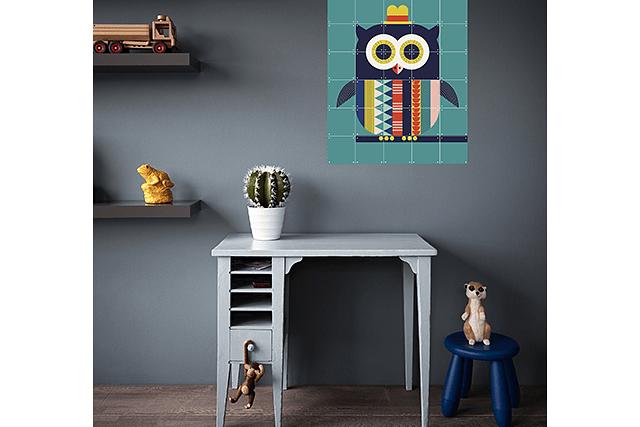 Mural Infantil Owl image 5