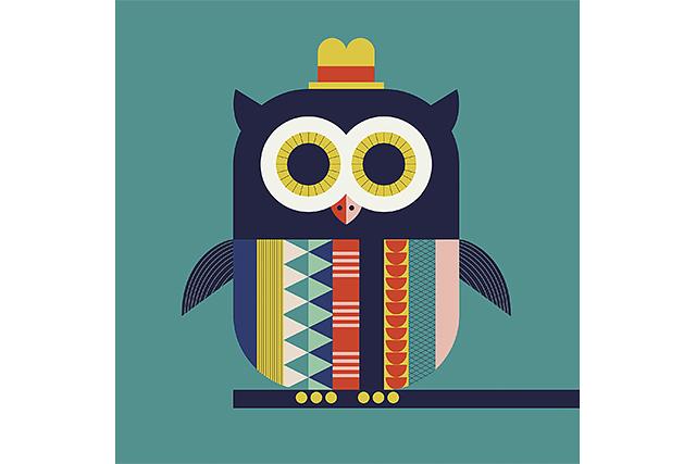 Mural Infantil Owl image 6