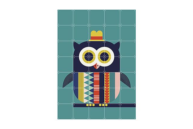 Mural Infantil Owl image 7