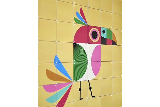 Mural Infantil Bird image 4