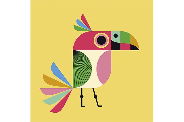 Mural Infantil Bird image 5