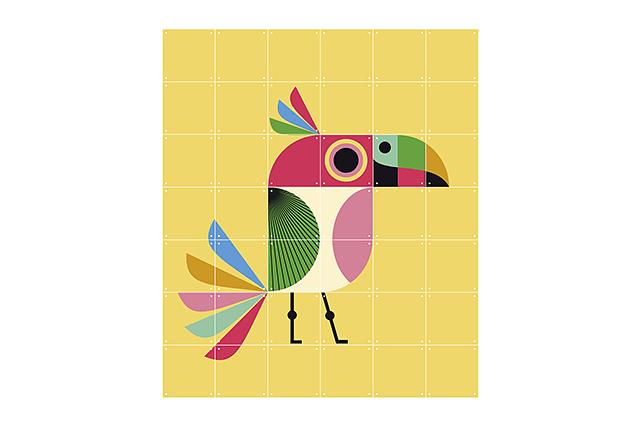 Mural Infantil Bird image 6