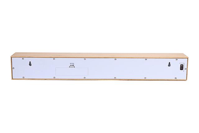 Reloj Texttime Bamboo Blanco image 5