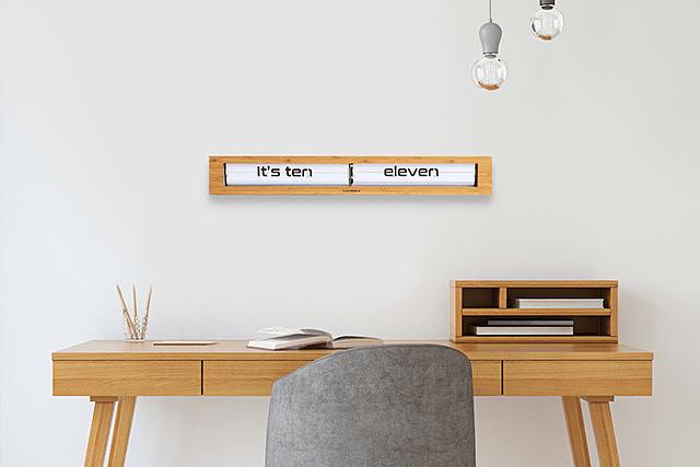 Reloj Texttime Bamboo Blanco image 7