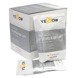 Decolorante Yellow 9T Caja 10 sobre 50g