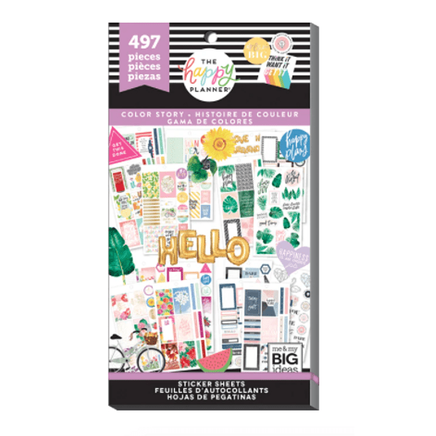 Sticker Book - Color Story