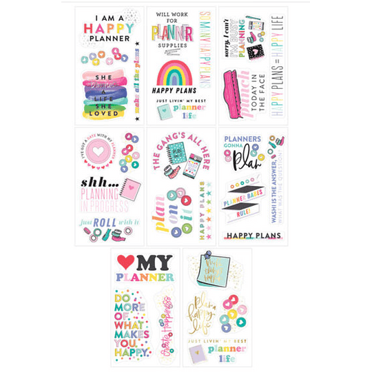 Happy Planner Large Stickers
