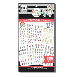 Value Pack Stickers - Stick Girls Seasonal