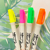 4  Artline Supreme Brush Marker Fluor