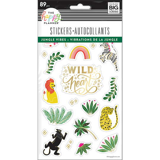 Jungle Vibes Stickers