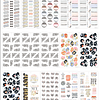 Colorful Leopard - Value Pack Stickers