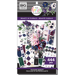Beauty in Florals - Value Pack Stickers
