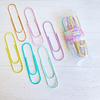 Set 6 clips tamaño gigante pastel