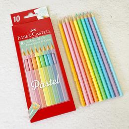 10 EcoLápices color pastel