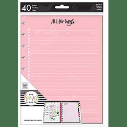 Classic Note Paper- Hojas de Colores