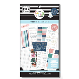Value Pack Stickers - Wedding