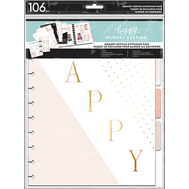 The Happy Planner Happy Memory Keeping - Love This Moment Big Extension Pack
