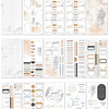 Value Pack Stickers - Neutral Watercolors
