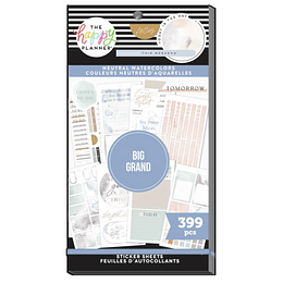Value Pack Stickers - Neutral Watercolors BIG