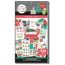 Value Pack Stickers - Merry Christmas