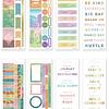 Colorful Desert - 8 Láminas de stickers