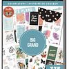 Value Pack Stickers - Bright Places Color Story - BIG