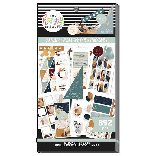 Pack Stickers - Watercolor Recovery