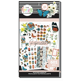 Value Pack Stickers - Papillon Butterfly