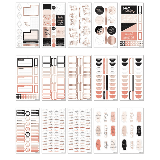 Value Pack Stickers - Bold & Blush