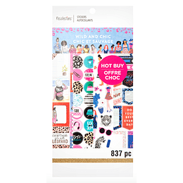 Wild & Chic Stickers by Recollections™