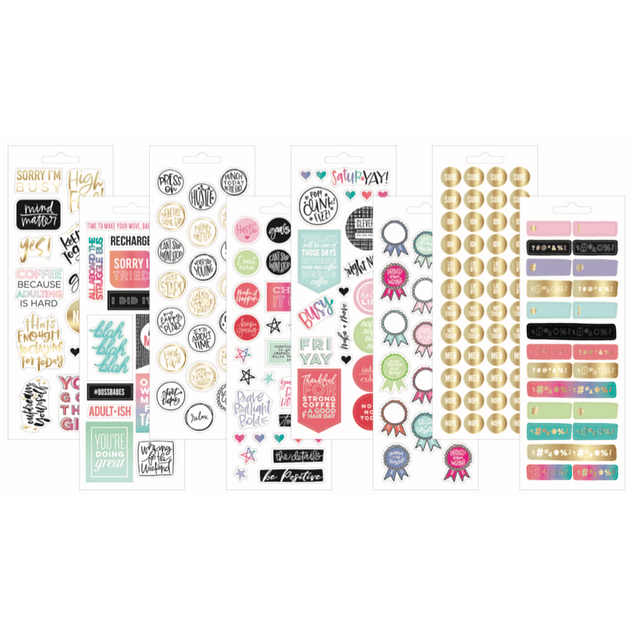 Stickers Adulting The Happy Planner