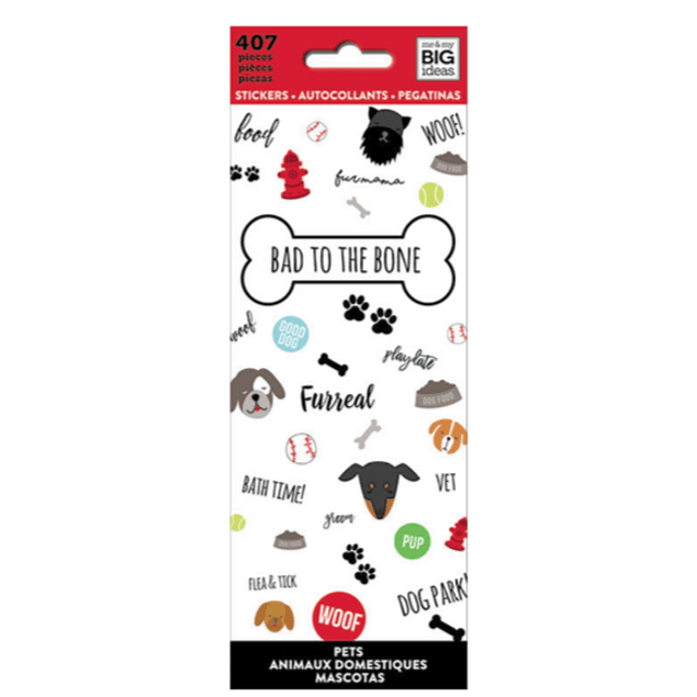 Stickers de Perrito - Happy Planner