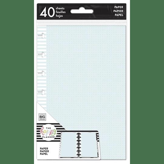 Inserts Happy Planner Mini Puntos de colores