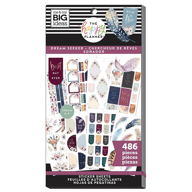 Value Pack Stickers - Dream Seeker