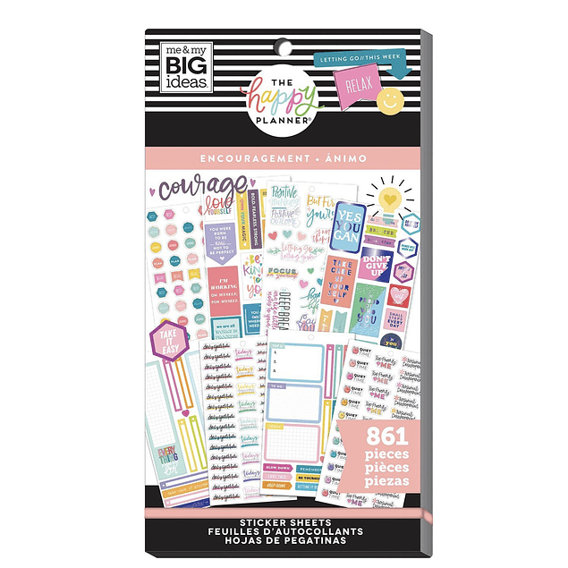 Value Pack Stickers - Encouragement