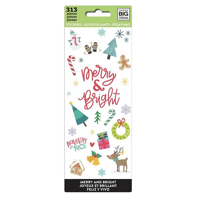 Sticker Sheets - Merry and Bright