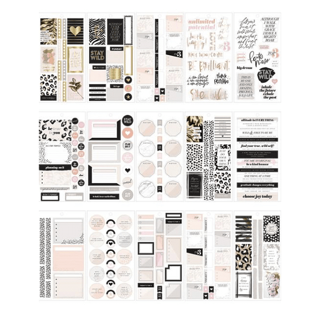 Pack Stickers - Wild Styled