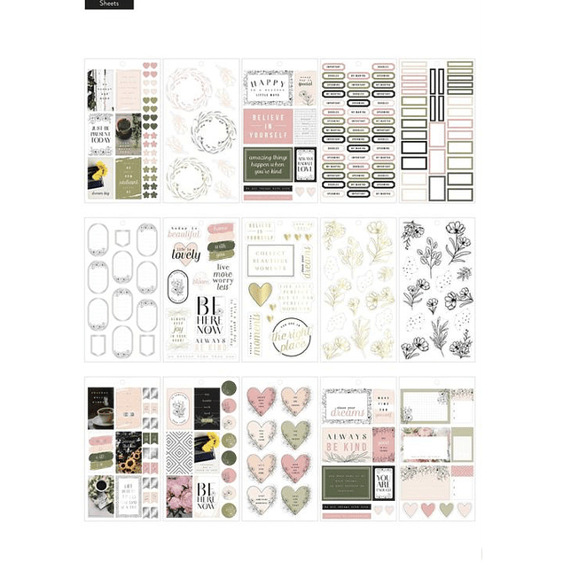 Pack Stickers - Modern Farmhouse