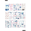 Pack Stickers - Year to Shine Goals