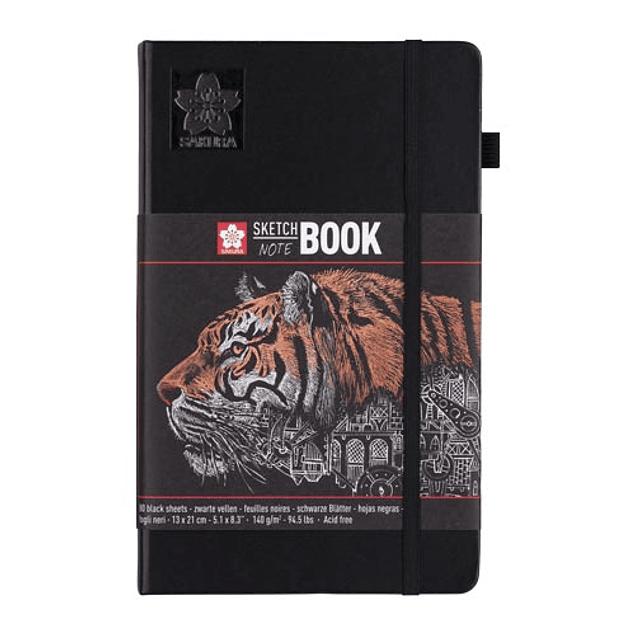 Sakura Sketchbook - Hojas Negras
