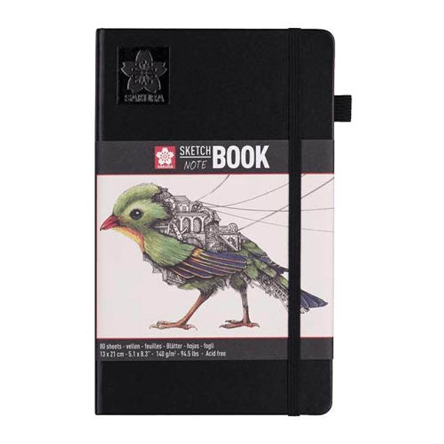 Sakura Sketchbook - Hojas Blanco Crema
