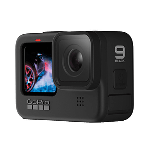 GoPro Hero 9 Black + MicroSD 32GB + Bastón
