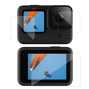 Vidrio Protector de lente y pantallas GoPro Hero 9