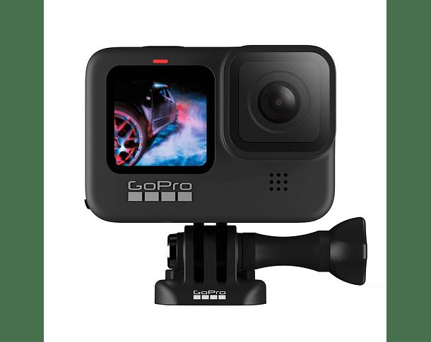 GoPro Hero 9 Black + MicroSD 32GB + Bastón Carbon Fiber